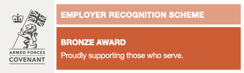 Defence Employer Recognition Scheme (ERS) - Bronze