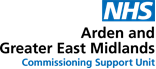Arden and GEM Commissioning Support Unit